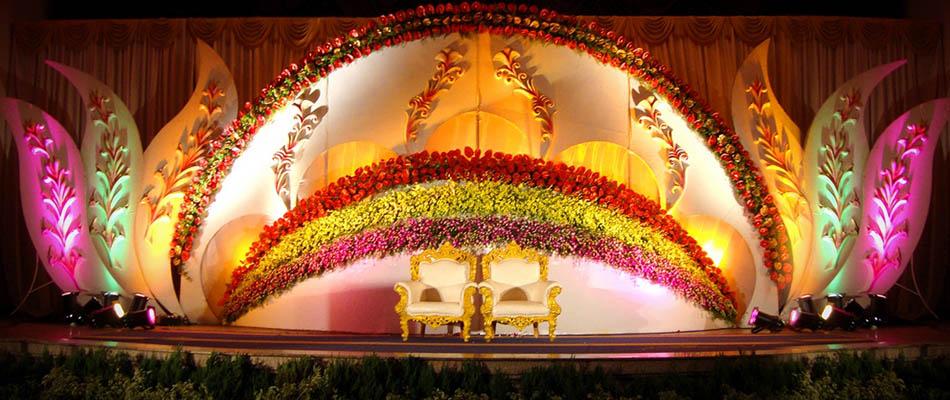Stage Decoration In Palanipandalflowermandapamdesignevent Custom Pandal Design And Decoration