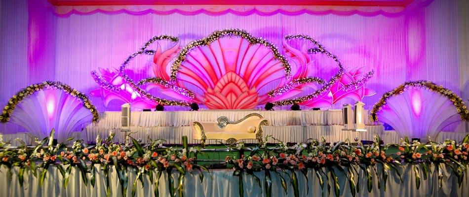 Stage decoration in palanipandalflowermandapamdesignevent temp junglespirit Images