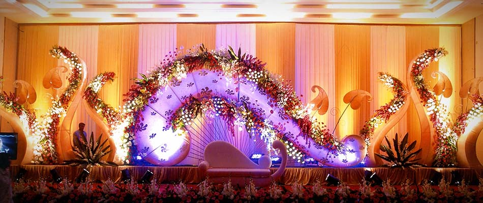 Stage Decoration In Palanipandalflowermandapamdesignevent